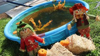 Download HALLOWEEN Mini POND WITH SPOOKY FISH!! Video