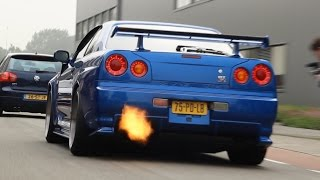 Download Supercars arriving at Cars&Coffee Meet! - Accelerations, Launches, Revs & Loud Sounds! Video