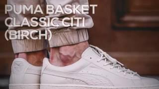 Download PUMA BASKET CLASSIC CITI (BIRCH) / PEACE X9 Video