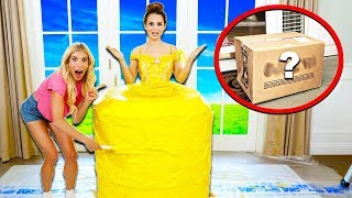 Download Baking WORLD'S LARGEST Giant Princess Doll CAKE! (Secret Mystery Box Appears) w/ Ro Pansino Video