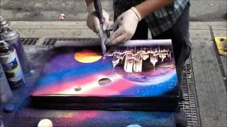Download Amazingly Fast Spray Paint Artist Video