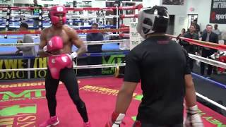 Download Kevin Lee vs Christian Thomas sparring highlights Video
