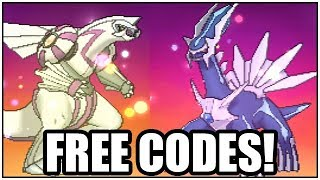 Download Pokemon Legendary Distribution - Dialga and Palkia (FREE CODES) Video
