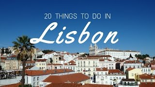 Download 20 things to do in Lisbon Travel Guide Video