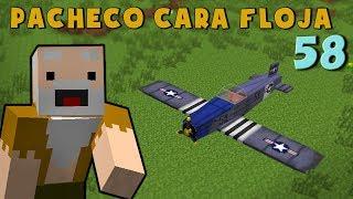 Download Pacheco cara Floja 58 | COMO HACER UNA AVIONETA en Minecraft Video