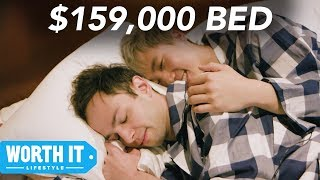 Download $150 Bed Vs. $159,000 Bed Video