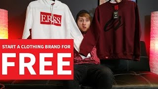 Download Start A Clothing Brand For FREE! Video