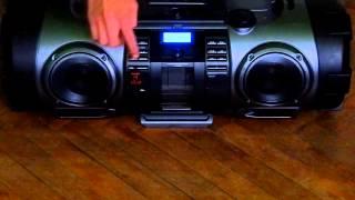 Download JVC Powered CD System RV-NB70 Video