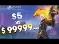Download Mobile Legends $5 Skin vs $9999...Skin Video