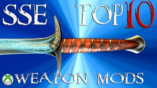 Download Skyrim Special Edition Top 10 Weapons Mods Video