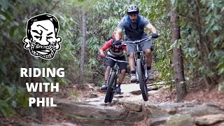 Download Mountain Biking with Phil Kmetz in North Carolina - Riding with Seth EP13 Video