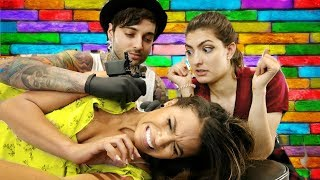 Download Letting Strangers Pick Out Our Tattoos! Video