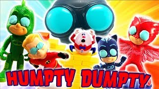 Download Incredibles 2 and PJ Masks Humpty Dumpty Wall Game! Featuring Dash, Owlette, Catboy and Violet! Video