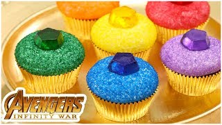 Download AVENGERS INFINITY STONE CUPCAKES - NERDY NUMMIES Video