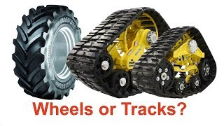 Download Tracked Tractor vs Wheeled Tractor. Wheels or Tracks? SmartTrax Soucy Trac Mitas PneuTrac TractorLab Video