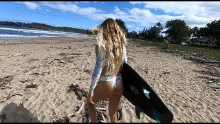 Download SURFING with JACK and ALANA Video