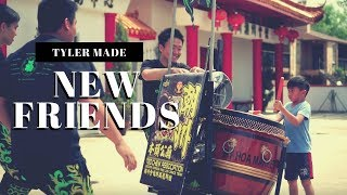 Download TYLER LION DANCE DRUMMING (狮子舞打鼓) WITH TEO CHEW TEAM IN HOUSTON // They made his day Video