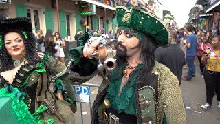 Download Mardi Gras 2018 Bourbon Street 4k Video
