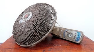 Download Mr.Electricity Restoration Project // Very Old Wall Fan Restoration Video