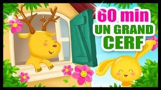 Download Dans sa maison un grand cerf - 60 Min de comptines sur les animaux - Titounis Video