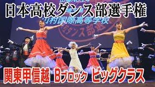 Download 日本高校ダンス部選手権 関東甲信越Bブロック ビッグクラス 全国大会出場校 Video
