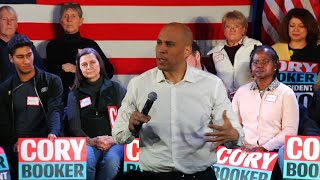 Download Sen. Booker makes first visit to New Hampshire Video