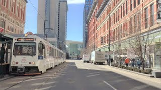 Download Driving Downtown - Denver 4K - Colorado USA Video
