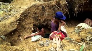 Download gold mining in the Philippines Video