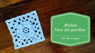 Piastrelle crochet how to crochet granny square with round