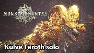Download MHWorld | Kulve Taroth solo (Lv6) Video
