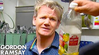 Download Ramsay Can't Handle Being Served APPLE JUICE Risotto! | Hotel Hell Video