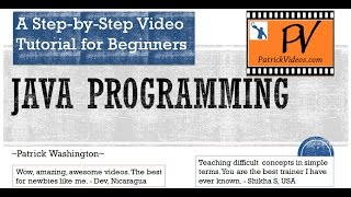 Download Java Tutorial for Beginners - Original Step by Step Video