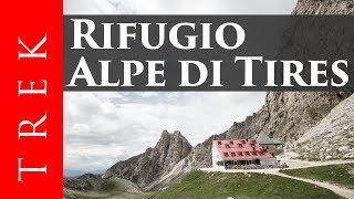 Download Da Campitello di Fassa al Rifugio Alpe di Tires percorrendo la spettacolare Val Duron Video