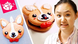 Download I Tried To Re-Create These Corgi Macarons Video