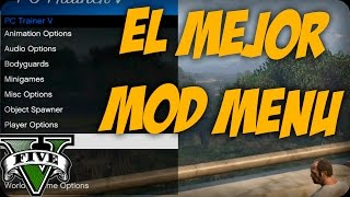 Download PC Trainer V MOD MENU GTA 5 PC EL MEJOR MOD MENU Video