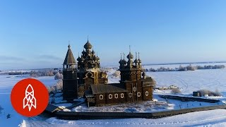 Download The Russian Churches Built without Nails Video