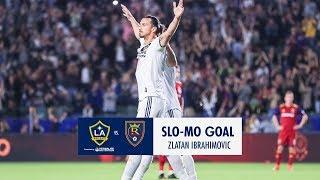Download SLO-MO: Zlatan nets a brace for the win vs. Real Salt Lake Video