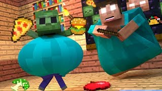 Download Top 5 Minecraft Zombie Life - Minecraft Animations Video