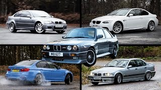 Download The Ultimate BMW M3 Review: E30 vs E36 vs E46 vs E92 vs F80 Video