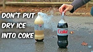 Download What Happens if You put Dry Ice into COKE Video
