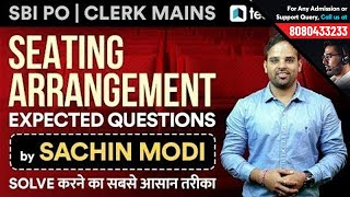 Download SBI PO & SBI Clerk Mains | Expected Questions on Seating Arrangements by Sachin Modi | Tips & Tricks Video
