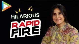Download Katrina Kaif's mind-blowing RAPID FIRE on SRK, Anushka Sharma, Zero, Tiger Zinda Hai & more Video