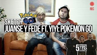 Download JuanSe y Fede Ft. Yiyi: Pokémon Go | Sketch Video
