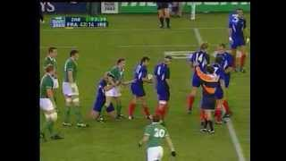 Download 2003 Rugby coupe du monde France Irlande Quart De Finale 43 21 Video