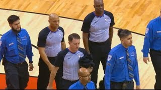 Download NBA Refs Get Police Escorted Out After Thunder vs Raptors Game For Ejecting DeMar DeRozan & Coach! Video