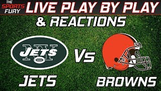 Download New York Jets vs Cleveland Browns   Live Play-By-Play & Reactions Video