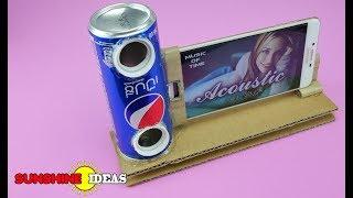 Download FREE !! Soda Can Mobile Phone Speakers สุดเจ๋ง ทำลำโพงมือถือ เสียงดีเสียงดัง ตังค์ไม่ต้องเสีย Video