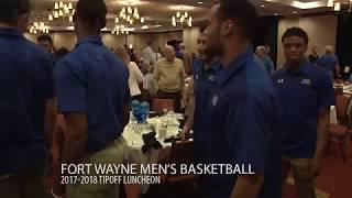 Download 2017-18 Fort Wayne Men's Basketball Tip-Off Luncheon Video