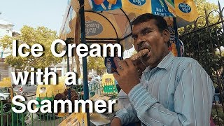 Download Eating Ice Cream with an Indian Scammer Video