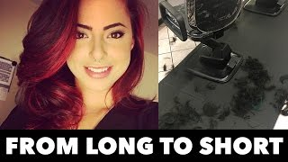 Download Going from LONG to BALD hair! Video